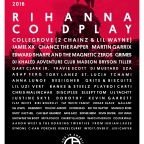 Rihanna and Coldplay to Headline the Budweiser Made in America Festival