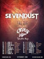 Sevendust Announces Fall Dates