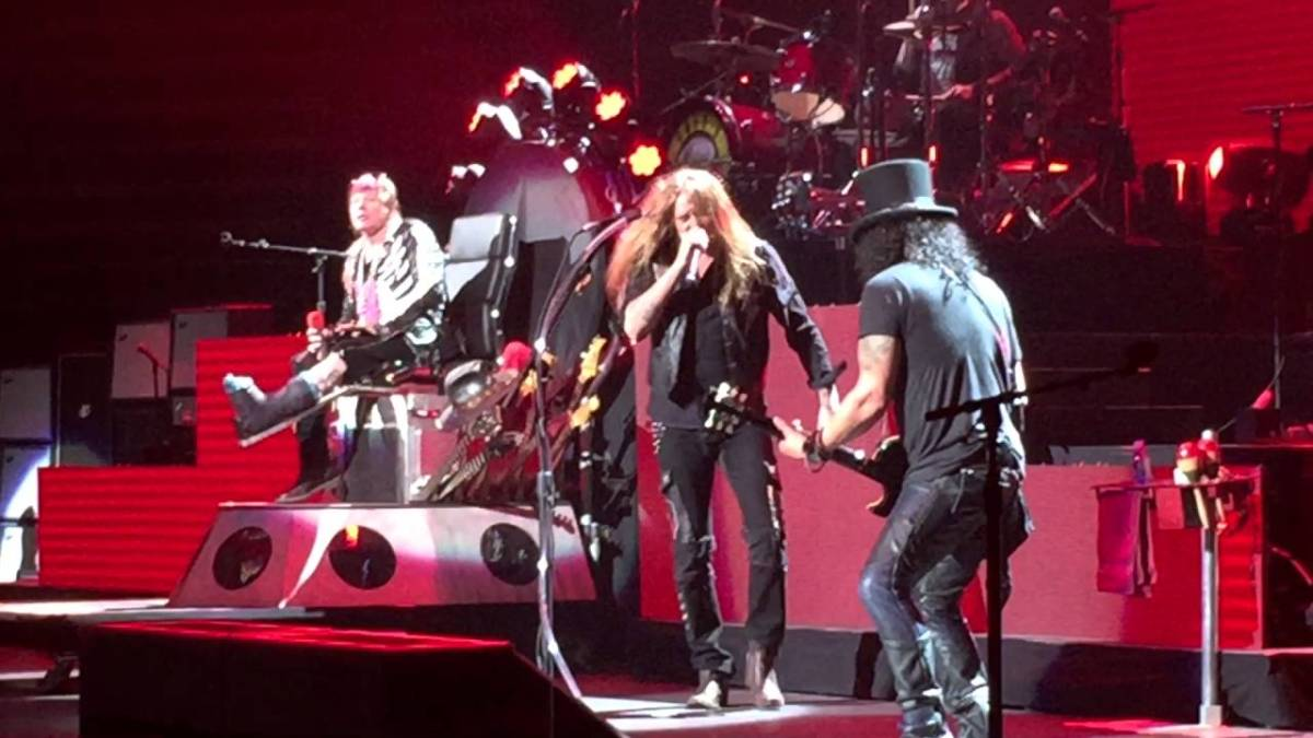 Guns Roses Tour Dates In California